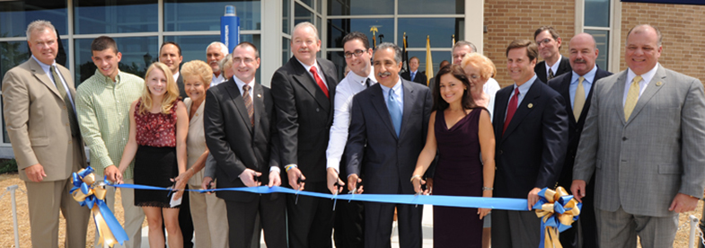 University Center ribbon cutting