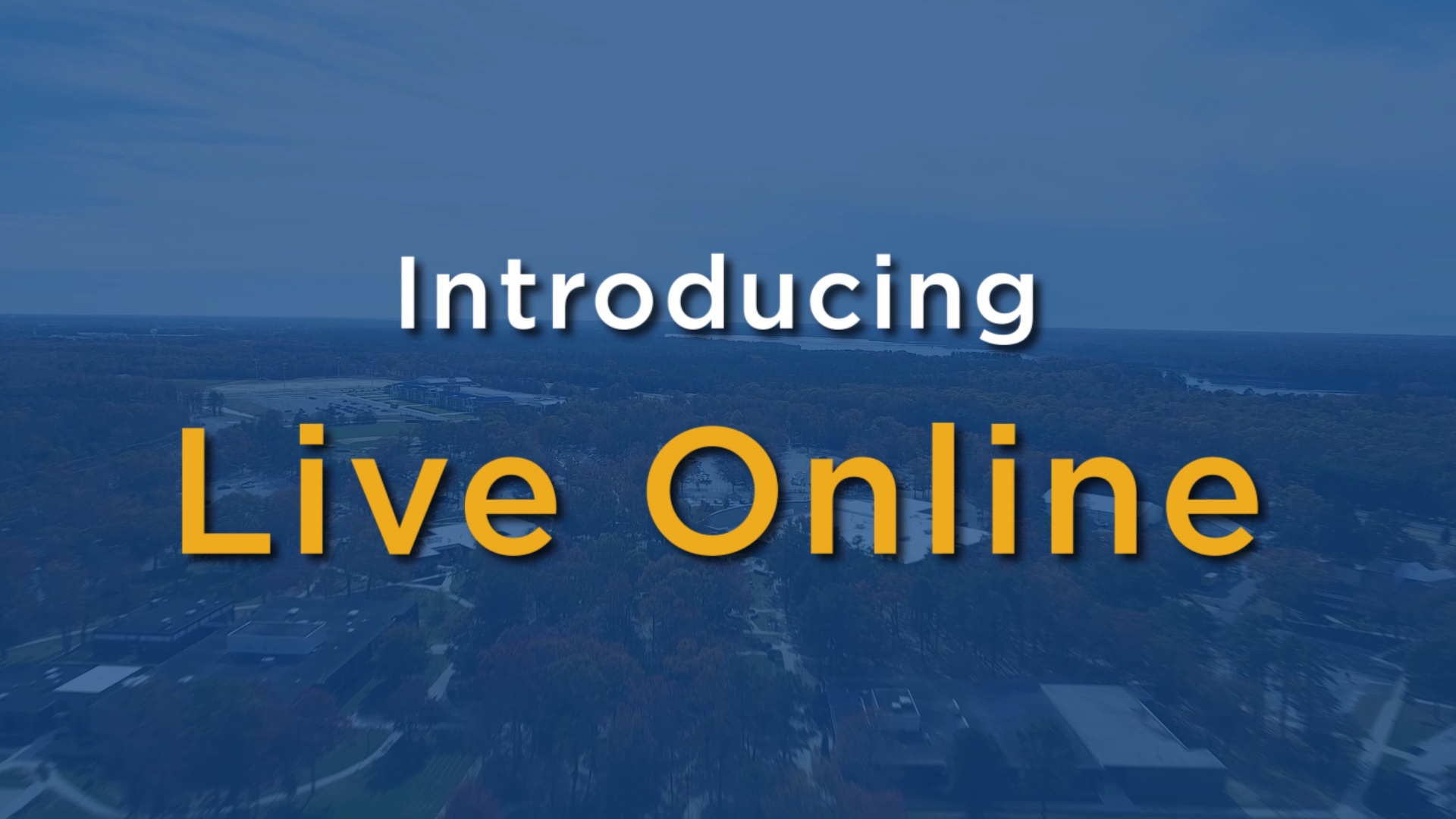 Introducing Live Online